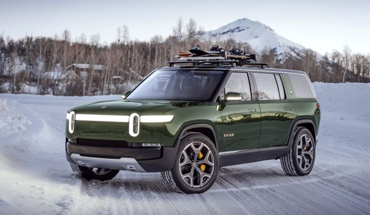 Rivian Electric Car QODE
